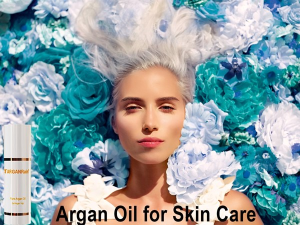 ARGANRain Pure Argan Oil 100% Working for Skin Treatment