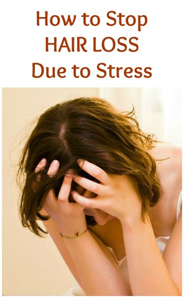 HOW TO ELIMINATE STRESS TO STOP YOUR HAIR LOSS