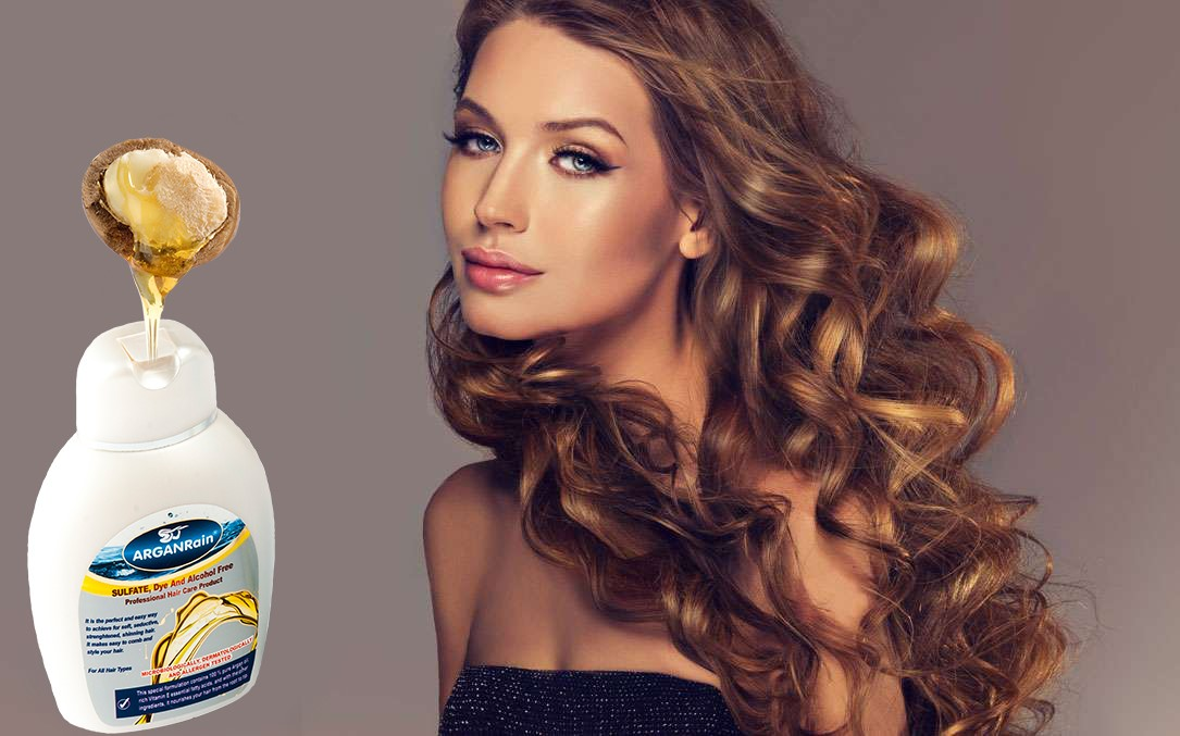 arganrain argan oil for hair care